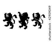 lion | Shutterstock .eps vector #42909049