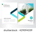 White Brochure  Leaflet  Flyer...