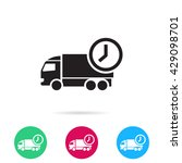 delivery vector  icon | Shutterstock .eps vector #429098701