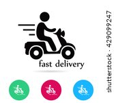 delivery vector  icon | Shutterstock .eps vector #429099247