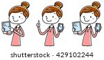 illustration material  young...   Shutterstock .eps vector #429102244