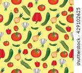 vector pattern background of... | Shutterstock .eps vector #429102625