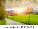 view of a spring day in the... | Shutterstock . vector #429124321