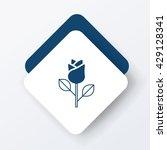 flower bouquet icon | Shutterstock .eps vector #429128341