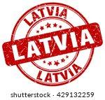 latvia. stamp   Shutterstock .eps vector #429132259