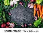 vegetables. fresh vegetables.... | Shutterstock . vector #429138211