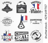 football championship of france ... | Shutterstock .eps vector #429149707