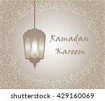 frame pattern ramadan circus... | Shutterstock .eps vector #429160069