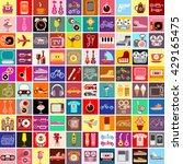 vector graphic design of... | Shutterstock .eps vector #429165475
