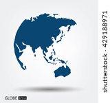 world map vector illustration | Shutterstock .eps vector #429188971