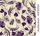 art vintage floral background... | Shutterstock .eps vector #42920533