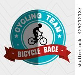 sport cycling design  | Shutterstock .eps vector #429212137