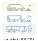 vehicle pictograms  european... | Shutterstock .eps vector #429231454