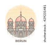 world cities landmark... | Shutterstock .eps vector #429231481