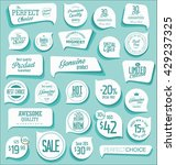 modern badges and labels... | Shutterstock .eps vector #429237325