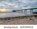 Stormy Skies Over Clevedon Pier ...