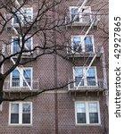 red bricks facade | Shutterstock . vector #42927865