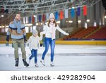 Family With Child At Ice...