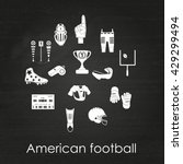 set of sport icons  signs and... | Shutterstock .eps vector #429299494
