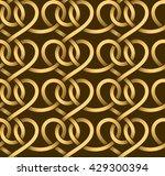 vector seamless pattern of... | Shutterstock .eps vector #429300394