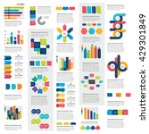 mega set of infographics... | Shutterstock .eps vector #429301849