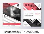 annual report brochure.... | Shutterstock .eps vector #429302287