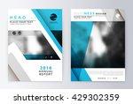annual report brochure.... | Shutterstock .eps vector #429302359