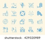 tourism icon set  vector icons | Shutterstock .eps vector #429320989