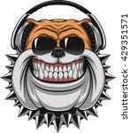 vector illustration of funny... | Shutterstock .eps vector #429351571