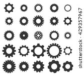 gear icon. vector illustration | Shutterstock .eps vector #429357967