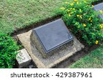 Gravestone With Blank Space Fo...