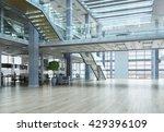 elegant office interior | Shutterstock . vector #429396109