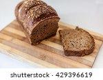 black bread  | Shutterstock . vector #429396619
