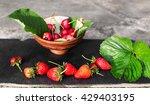 Strawberries And Cherries Just...
