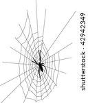 spider   Shutterstock .eps vector #42942349