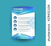 modern cover annual report... | Shutterstock .eps vector #429431104