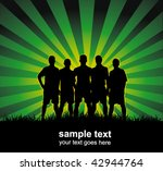 football team | Shutterstock .eps vector #42944764