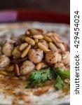 horizontal closeup hummus   Shutterstock . vector #429454024