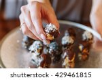 useful candy homemade chocolate ... | Shutterstock . vector #429461815