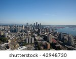 Seattle Center is a fairground, park and arts and entertainment center in Seattle, Washington. - stock photo