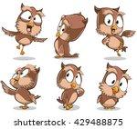vector cartoon illustration of... | Shutterstock .eps vector #429488875
