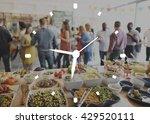 time clock organization... | Shutterstock . vector #429520111