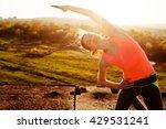 summer relax on nature | Shutterstock . vector #429531241