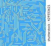 neutral hi tech vector seamless ...   Shutterstock .eps vector #429553621