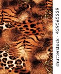 Animal Print Mix. Sublimation...
