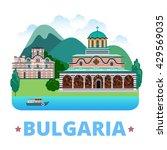 bulgaria country design... | Shutterstock .eps vector #429569035