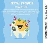 dental care illustration for... | Shutterstock .eps vector #429569137