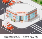illustration of hospital... | Shutterstock .eps vector #429576775
