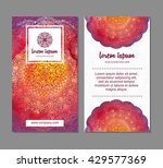 visiting card  business card... | Shutterstock .eps vector #429577369