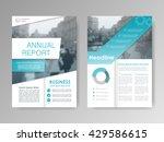 annual report  flyer ... | Shutterstock .eps vector #429586615